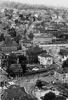 Als die Innenstadt ihr Gesicht veränderte - Nachrichten aus Heidelberg - Rhein Neckar Zeitung Skyline Von Paris, City Photo, Travel, Oviedo, Fotografia, Heidelberg, Face, Newspaper, Messages