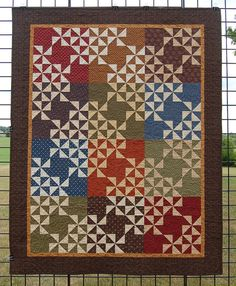 """Quilt for Sale, """"Pottery Shards"""" is a small quilt made with Civil ... : lap quilts for sale - Adamdwight.com"""