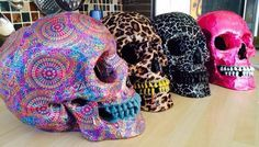 Everything connected with skulls - design, art, fashion, tattoos, make-up and more.... at...