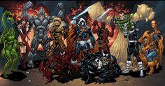 Marvel Comics Universe Villains