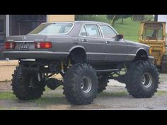 Think I should do this to the Benz, Katie?