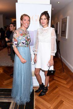 Alexa Chung Photos Photos - British Consul General, New York Antonia Romeo and…