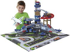 Fast Lane Multi-Level Airport Playset