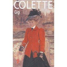 Gigi--Colette.  Bought this after our 25th anniversary.  We went to Eureka Springs and stayed at a B & B owned by an author.  Each room was dedicated to an author--ours was Colette: feathers and boas, pink froufrou everywhere, and even a heart-shaped whirlpool tub!