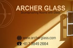Archer Glass is widely known and praised in Brisbane, Australia for their quality products and services. For your inquiries, call them at 07 3849 2664 or visit their website www.archerglass.com  #ArcherGlass #SoundproofGlass Brisbane Australia, Sound Proofing, Archer, Tree Branches, Art Pieces, Website, Glass, How To Make, Products