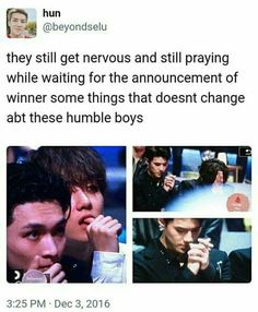 And there's Sehun praying. Exo Ot12, Chanbaek, Kyungsoo, Chanyeol, Exo Memes, Exo K, Kpop Groups, Shinee, Bigbang