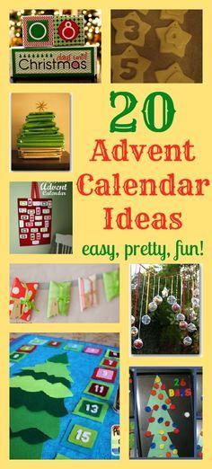20 lovely DIY advent calendar ideas