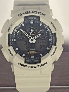 Casio G Shock Ga100sd Wrist Watch For Men Desert Tan Water Resistant 20 Bar