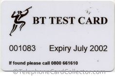British Telecom (BT) Optical Cardphone Test Cards and Credit Card Readers, Gyr, Test Card, Telephone, Competition, Archive, British, Posters, Cards