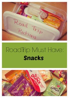 Road Trip Must Haves: Healthy Snacks