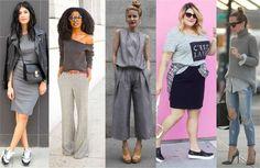 Cinza - Um poderoso instrumento de comunicação através das roupas: a cor. Veja significados;