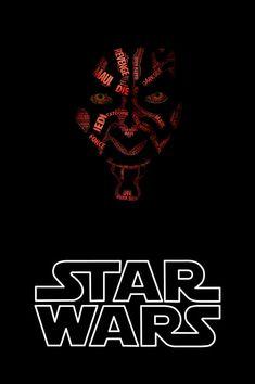 Star Wars Typographic Portraits