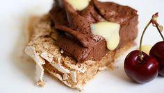 Pavlovas with Chocolate Mascarpone Mousse
