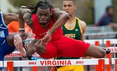 Junior hurdler Vincent Wyatt will represent #RadfordU track and field at the 2014 NCAA East Preliminary Round to be contested May 29-31 at North Florida's Hodges Stadium in Jacksonville, Fla.