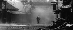 Yojimbo (1961) screenshot; composition inspiration