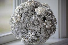 Brooch Bouquet by nicolasacicero on Etsy, $110.00