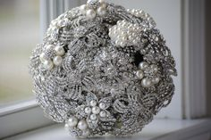 Brooch Bouquet by nicolasacicero on Etsy, $110.00