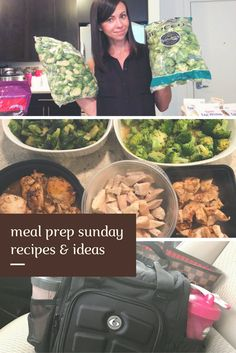 Video: Sunday Meal Prep Shopping and RE...