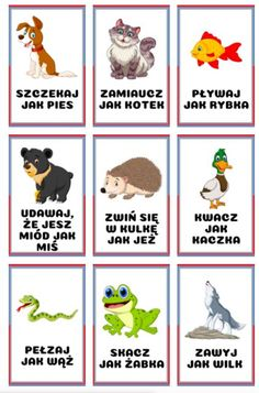Home Games For Kids, Outdoor Activities For Kids, Toddler Learning Activities, Infant Activities, Kindergarten Activities, Book Activities, Crafts For Kids, Preschool, Learn Polish