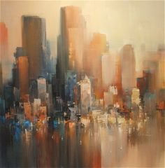 Cityscape by WILFRED LANG