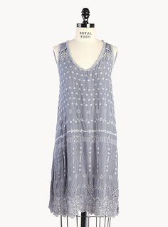 Flowergaze Tank Dress (w/ Slip)