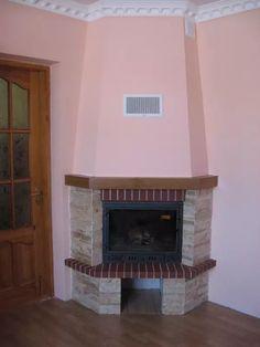 Cottage Fireplace, Decoration, Foyer, Ideas Para, Decor Styles, Houses, Living Room, Design, Home Decor