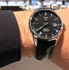 Tag Heuer Carrera Twin Time watch