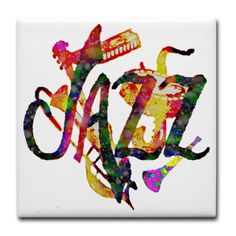 JAZZ - Tile Coaster