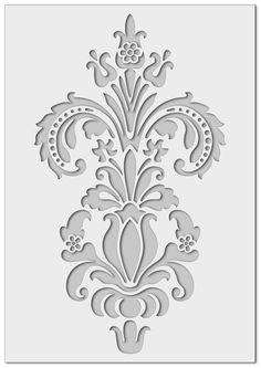 mm semi-transparent washable and reusable Large Stencils, Stencil Painting, Wall Tattoos, Motifs Islamiques, Stencil Designs, Wall Stencil Patterns, Stencil Templates, Art Mural, Decorative Objects