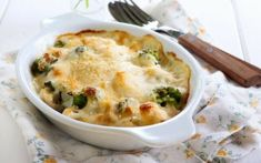 Golden Cauliflower and Broccoli Bake Side Recipes, Easy Dinner Recipes, Great Recipes, Easy Meals, Cooking Tips, Cooking Recipes, Healthy Recipes, Vegetable Dishes, Vegetable Recipes