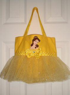Princess Belle Mini Tutu Tote Bag, $15.00
