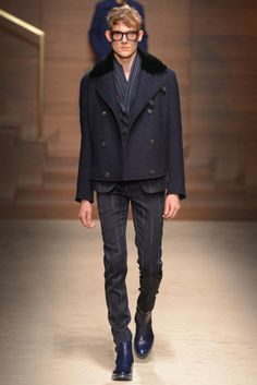 Salvatore Ferragamo Men's RTW Fall 2014 - Slideshow - Runway, Fashion Week, Fashion Shows, Reviews and Fashion Images - WWD.com