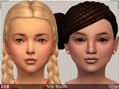 Sims Addictions: Shy Blush by Margies Sims • Sims 4 Downloads