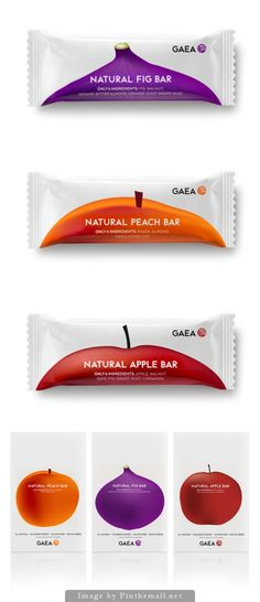GAEA Fruit Bars, Creative Agency: mousegraphics - http://www.packagingoftheworld.com/2014/10/gaea-fruit-bars.html