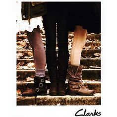 Clarks Ad Campaign Fall/Winter 2011 Shot #9 ❤ liked on Polyvore