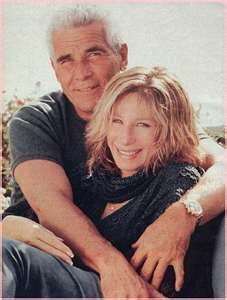 Barbra Streisand and James Brolin, a couple I admire.