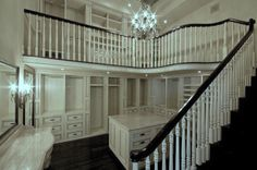 Two-story Closet Space