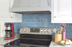 How to measure square footage for a kitchen backsplash via Jessica @ fourgenerationsoneroof.com