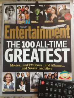 Have you checked out Entertainment Weekly's 100 greatest novels of all time?  We did, and discussed, and were so inspired we invented a game.  Click through the link and play along with us!