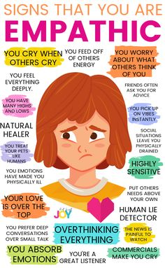Are you wondering: What is a true empath? What are the signs of empathy? In this post, we will go over a few telling signs plus more about how empathy actually feels. Sensitive to Noise and Light When it comes to loud noises and bright lights, your inte Empath Traits, Intuitive Empath, Empath Types, Empath Abilities, Psychic Abilities, Infj Personality, Social Anxiety, Mental Health Awareness, What Is Mental Health
