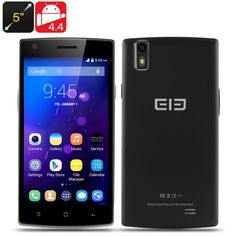 """http://www.andnykstore.com/elephone-g4-smartphone-black-white.html The Elephone G4 Smartphone has a 5 Inch 1280x720 Screen, MTK6582 Quad Core CPU, 1GB RAM, 4GB Internal Memory and an Android 4.4 operating system. """"Keep Expecting and be surprise"""" is how Elephone is describing its G4 model smartphone. Marketed as a budget phone but designed with a quad core processor and a HD display, this smartphone is offering a lot for little cost. The clever craftsmanship that has been put into this…"""