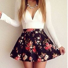 Longsleeve Floral Dress
