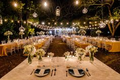 Garden wedding. Lighting for wedding.  Outdoor wedding.