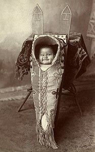 4e60d471aaa Native American Cradleboards  Papoose Cradles and other American Indian  Baby Carriers
