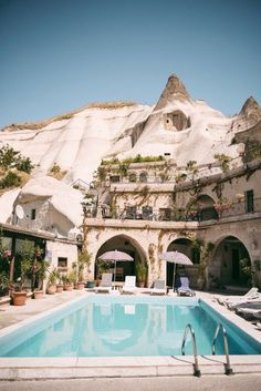Local Cave House -  Cappadocia, Turkey #architecture #architechuralcomponents #homedecor #bathroom #kitchen #bedroom #homedesign #exteriordesign #landscaping #design #diy #doityourself #homedecorating #interiordesign #euroarchitecturalcomponents #euroeac #diyinspo #designinspo #homerenovation #homerenovationinspo
