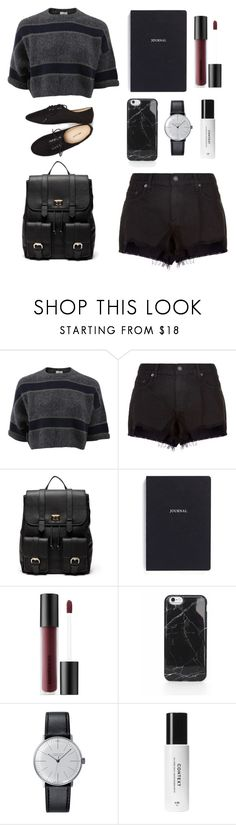 """""""#46 Casually Lovely"""" by jocelynleebold ❤ liked on Polyvore featuring Brunello Cucinelli, rag & bone, Sole Society, Bynd Artisan, Bare Escentuals, Klein & more, Context and Wet Seal"""