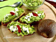 Aperitive usor de facut: Crema de avocado si ou  #gazdaperfecta #mobilena
