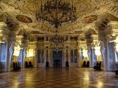 Coburg, Ehrenburg Palace, Ballroom by claudia@flickr, via Flickr