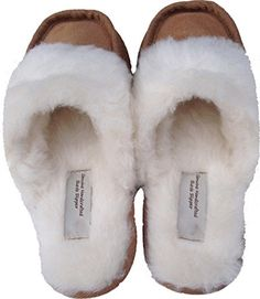 Handmade, Luxurious, Suede Mule Slippers for Men and Women. Extremely Comfortable Slipper. 100% Genuine Suede, 100% Wool lined, no Faux-Fur. Durable sole. Size 4 Justladybug http://www.amazon.co.uk/dp/B01AT7O9X2/ref=cm_sw_r_pi_dp_qJ1Rwb1JBFBZ9