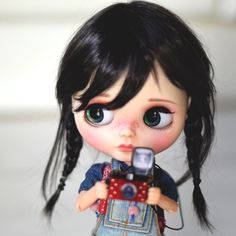 She's so cute for a Blythe!